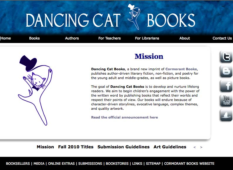 Dancing Cat Books